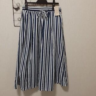 サマンサモスモス(SM2)のSamansa Mos2  新品、未使用 柄アソートギャザースカート(ひざ丈スカート)