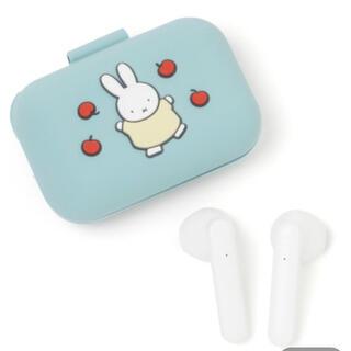 スタディオクリップ(STUDIO CLIP)のstudio clip ミッフィー ワイヤレスイヤホン(ヘッドフォン/イヤフォン)