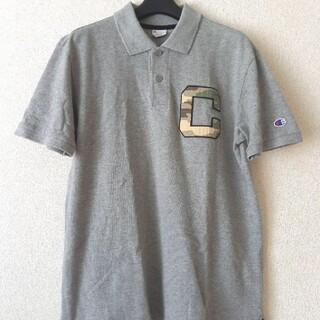 Champion - ☆Champion チャンピオン ポロシャツ Mサイズ グレー 美品