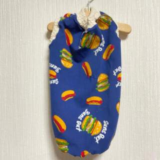『ホットドッグとハンバーガー』 メルロコ ダックス 犬服(ペット服/アクセサリー)