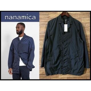 ナナミカ(nanamica)の新品 ナナミカ 20ss SUBS936 ハーフ コート ジャケット 紺 S(ナイロンジャケット)