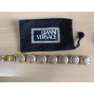 ジャンニヴェルサーチ(Gianni Versace)のジャンニ・ ヴェルサーチ コイン ブレスレット メデューサ コンビカラー(ブレスレット)