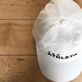 アスレタ(ATHLETA)のATHLETA アスレタコーチングキャップ05265大人帽子新品ホワイト(その他)