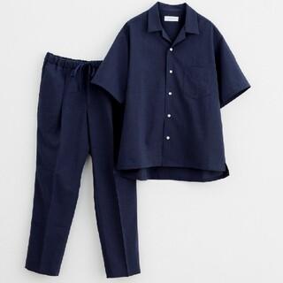 アダムエロぺ(Adam et Rope')の【RIRANCHA】オープンカラーシャツ&イージーパンツ 2点セット(シャツ)