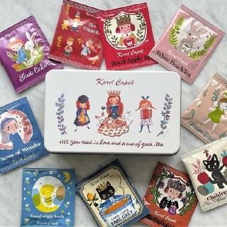 カレルチャペック紅茶店創業35周年記念10tea lover缶/Friends(茶)