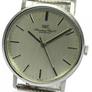 インターナショナルウォッチカンパニー(IWC)のIWC アンティーク ラウンド cal.403  手巻き メンズ 【中古】(腕時計(アナログ))