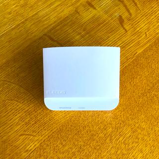 エレコム(ELECOM)の無線LAN(wifi) 中継機 ELECOM WTC-300HWH(その他)