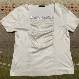 ニジュウサンク(23区)のカットソー 44(Tシャツ(半袖/袖なし))