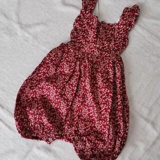 キャラメルベビー&チャイルド(Caramel baby&child )の新品 3-4Y OLIVIER LONDON  リバティロンパース(その他)