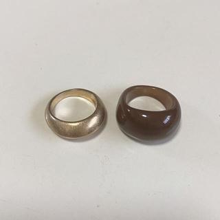 ニコアンド(niko and...)のメタルカラー2セットリング(リング(指輪))