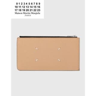 マルタンマルジェラ(Maison Martin Margiela)のMAISON MARGIELA ジップトラベル カードケース(長財布)