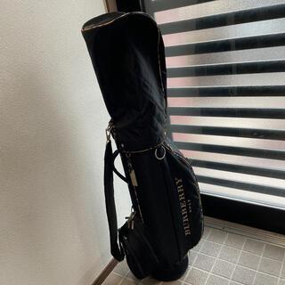 バーバリー(BURBERRY)のバーバリーゴルフ☆ホースマーク刺繍キャディバッグ(バッグ)