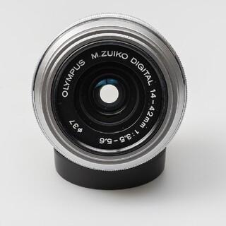 オリンパス(OLYMPUS)の9月26日限定価格✨【超美品】OLYMPUS M.ZUIKO 14-42mm(レンズ(ズーム))