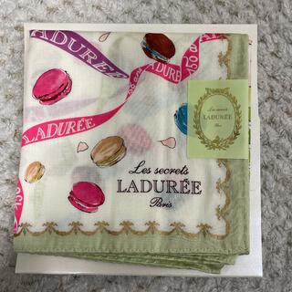 ラデュレ(LADUREE)のラデュレ ハンカチ スカーフ スイーツ(ハンカチ)