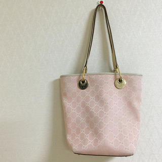 new product aef2d 85d67 グッチ GUCCI トートバッグ ピンク ミニトート エコバッグ