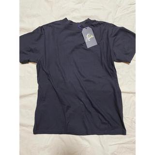 ニードルス(Needles)の新品タグ付 19ss ニードルス モックネック Tシャツ Mサイズ(Tシャツ/カットソー(半袖/袖なし))