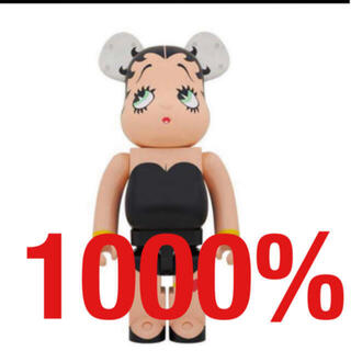 メディコムトイ(MEDICOM TOY)のBE@RBRICK Betty Boop BLACK Ver. 1000%(その他)