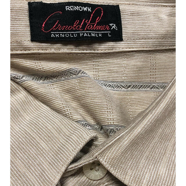 Arnold Palmer(アーノルドパーマー)のアーノルドパーマー ポロシャツ ゴルフウェア 美品 メンズ スポーツ/アウトドアのゴルフ(ウエア)の商品写真