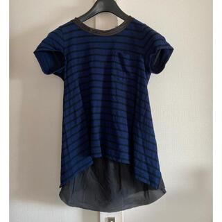 サカイラック(sacai luck)のサカイラック バックフレア カットソー Tシャツ(Tシャツ(半袖/袖なし))