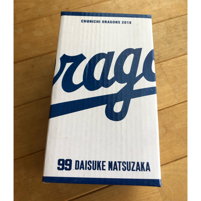 中日ドラゴンズ(チュウニチドラゴンズ)の松坂大輔選手 中日ドラゴンズ仕様 ボブルヘッド スポーツ/アウトドアの野球(記念品/関連グッズ)の商品写真