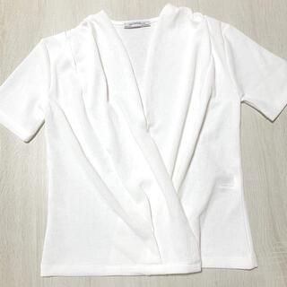 ザラ(ZARA)のzara トップス(カットソー(半袖/袖なし))