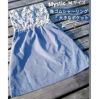 ミスティック(mystic)の即日発送 mysticミスティック レースギャザー ベアトップ ワンピース(ひざ丈ワンピース)