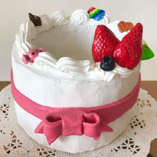 モルタル鉢 ケーキ ⭐︎他サイトで完売致しました⭐︎(プランター)