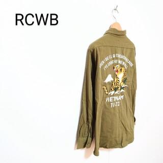 ロデオクラウンズワイドボウル(RODEO CROWNS WIDE BOWL)のRCWB/ロデオクラウンズワイドボウル ミリタリーシャツ(シャツ)