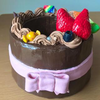 モルタル鉢 ケーキ チョコ ⭐︎他サイトで売り切れました⭐︎(プランター)