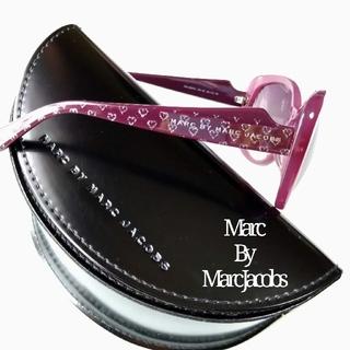 マークバイマークジェイコブス(MARC BY MARC JACOBS)のマークバイマークジェイコブス サングラス レトロ ボルドー ワイン ピンク(サングラス/メガネ)