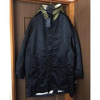 マルタンマルジェラ(Maison Martin Margiela)の黒54新品 N°21 メンズ ボア パーカー モッズ コート ブルゾン  ヌメロ(トレンチコート)