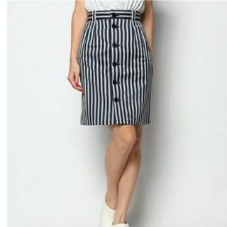 バナーバレット(Banner Barrett)のバナーバレット◆ストライプタイトスカート(ひざ丈スカート)