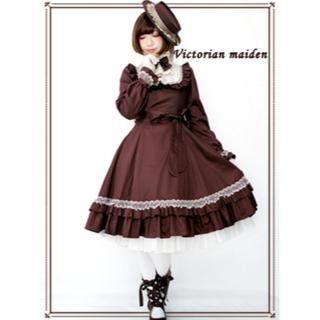 ヴィクトリアンメイデン(Victorian maiden)のヴィクトリアンメイデン クラシカルドールドレス victorian maiden(ひざ丈ワンピース)