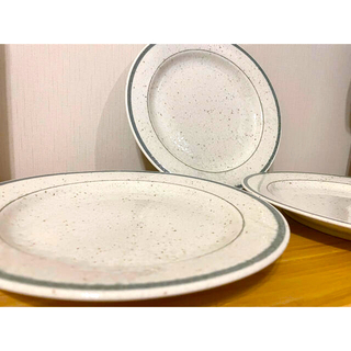 ダイナー風 お皿 3枚セット(食器)