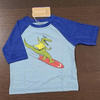 パタゴニア(patagonia)の新品未使用 patagonia Tシャツ 12-18m わに(Tシャツ)