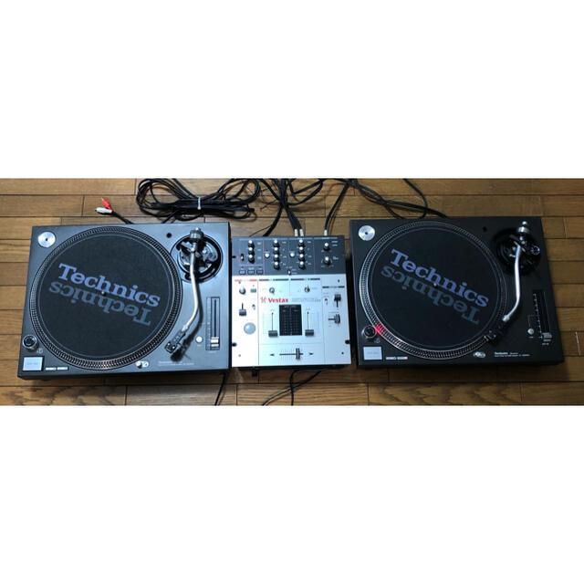 Panasonic(パナソニック)のレコード DJセット ミキサー&ターンテーブル×2  楽器のDJ機器(ターンテーブル)の商品写真
