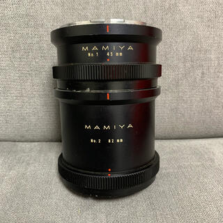 マミヤ(USTMamiya)のMAMIYA エクステンションリング 45mm 82mm(フィルムカメラ)
