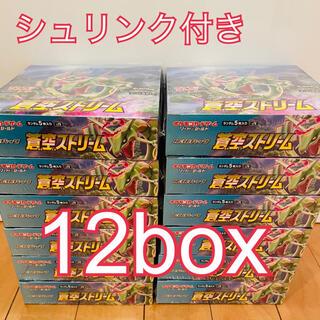 ポケモン(ポケモン)の12箱 ポケモンカード ポケカ 蒼空ストリーム(Box/デッキ/パック)