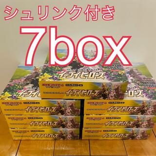 ポケモン(ポケモン)の7箱 ポケモン イーブイヒーローズ強化拡張パック(Box/デッキ/パック)