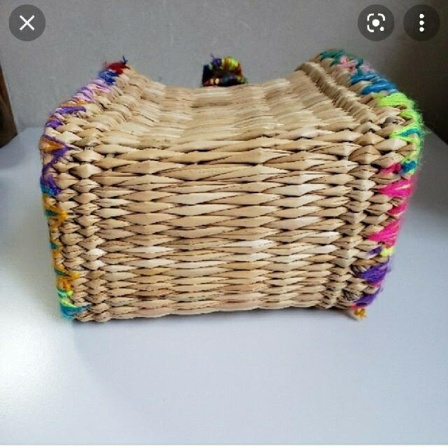 IENA(イエナ)のイエナ エンシャーラ カラフルかごバッグ 美品 レディースのバッグ(かごバッグ/ストローバッグ)の商品写真