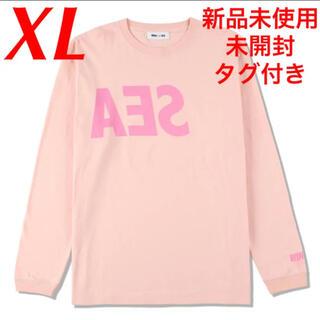 シー(SEA)のWIND AND SEA ロゴ ロンT 長袖 ウィンダンシー Logo Tee(Tシャツ/カットソー(七分/長袖))