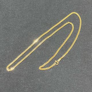 ジュエリーツツミ(JEWELRY TSUTSUMI)のK18 イエローゴールド 2面 喜平 ネックレス チェーン 50cm 10,2g(ネックレス)