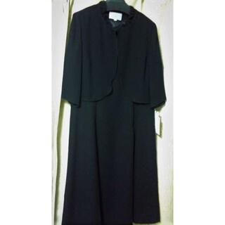 セシール(cecile)のブラックフォーマル*夏用ワンピース(礼服/喪服)
