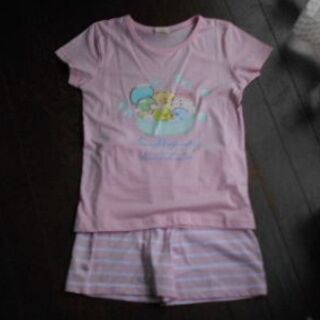 サンエックス(サンエックス)の新品・未使用♡すみっコぐらし上下セット(パジャマ半袖)130(パジャマ)