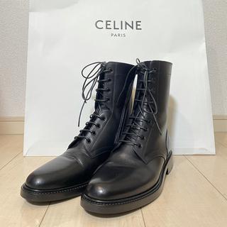 セリーヌ(celine)の8月31日まで出品!セリーヌ21年新作レースアップブーツ(ブーツ)