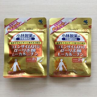 コバヤシセイヤク(小林製薬)の小林製薬 コエンザイムQ10 αリポ酸 L-カルニチン 30日分×2袋(ダイエット食品)