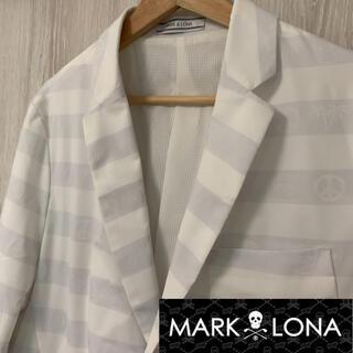 MARK&LONA - マークアンドロナ  MARK&LONA  ボーダー ライト テーラードジャケット
