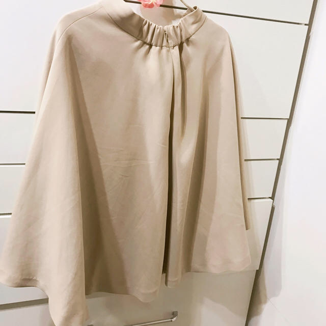 FRAY I.D(フレイアイディー)のフレアスカート ベージュ レディースのスカート(ひざ丈スカート)の商品写真