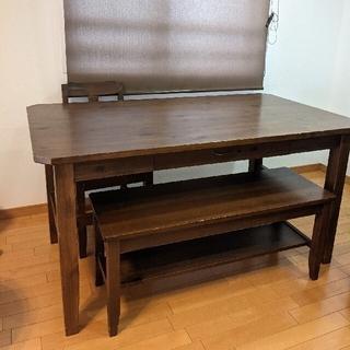 unico - 【定価約15万円】計4点 unico ダイニングテーブルセット