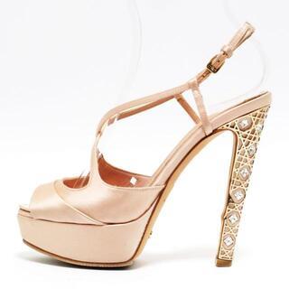クリスチャンディオール(Christian Dior)のディオール/クリスチャンディオール ピンク(サンダル)